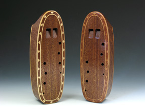 Inlaid Ocarinas